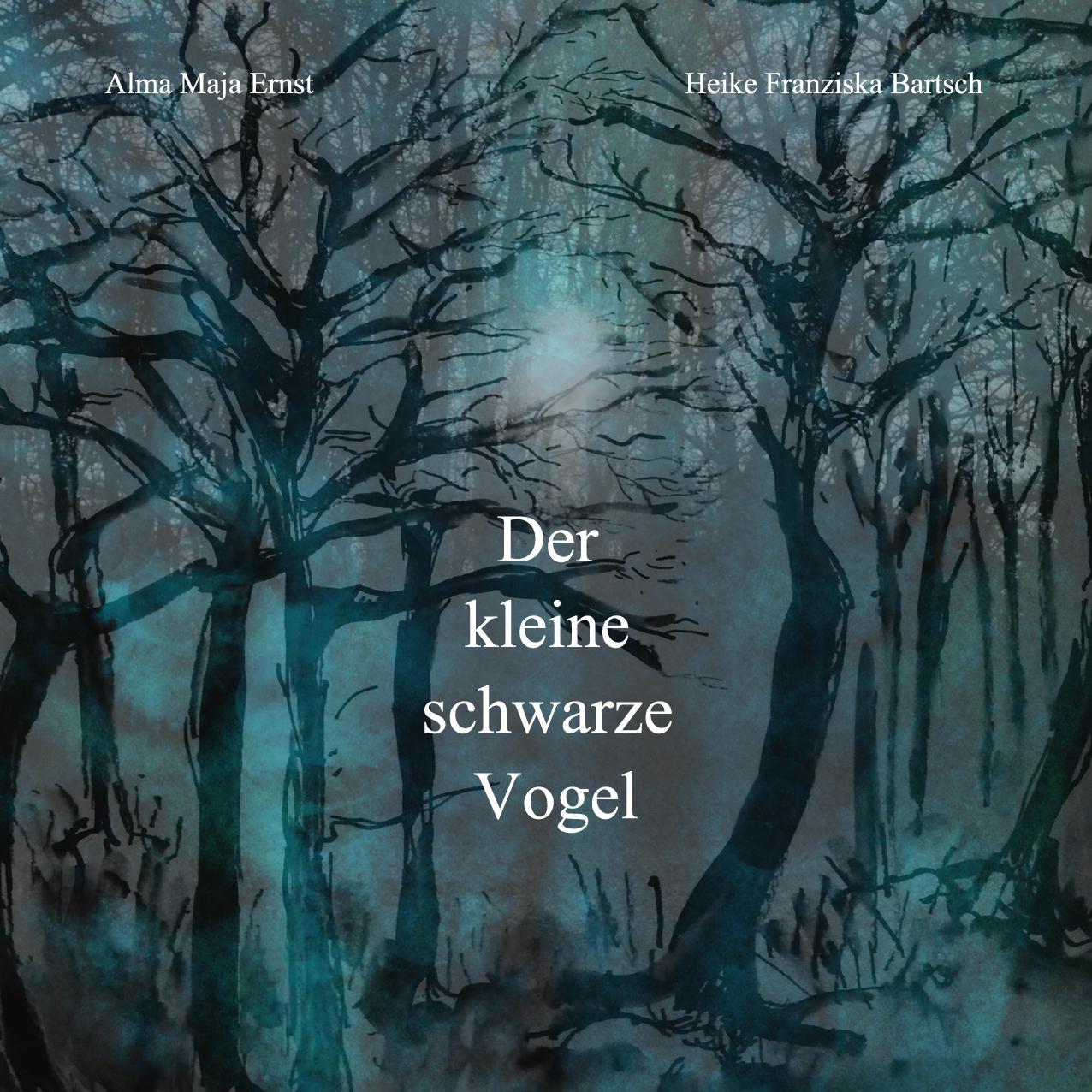 heike-franziska-bartsch-illustrationen-zum-buch_der-kleine-schwarze-vogel_von-alma-maja-ernst